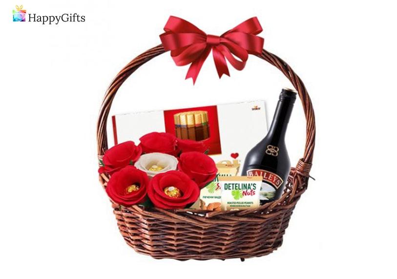 подарък за медицинска сестра; подаръчна кошница