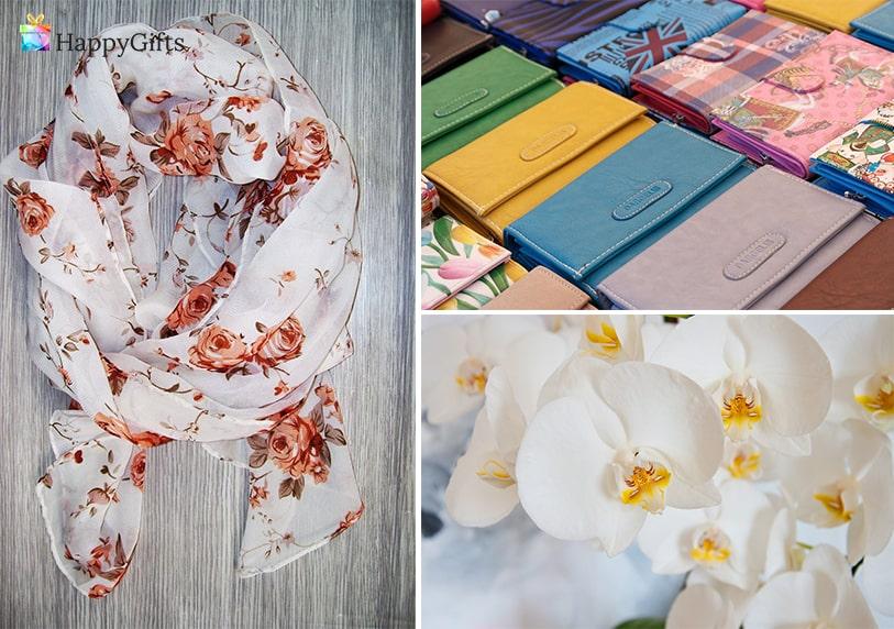 Подаръци за мама, подаръци за майка, подарък за рожден ден на мама, шал, цветя, портфейл,