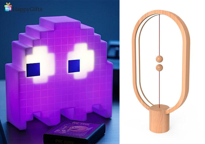забавни подаръци за шефа, подаръци за шефа, Лампа Heng Balance, Пакман лампа