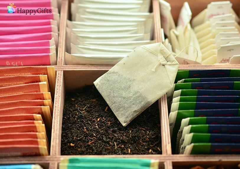 подарък за любимата тъща; колекция от ароматни чайове