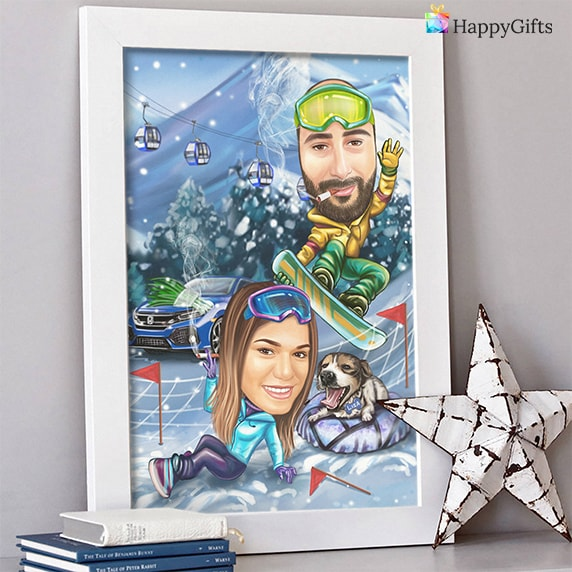 Коледна карикатура