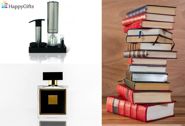 Перфектният подарък за любимия татко; турбушон, парфюм, книга