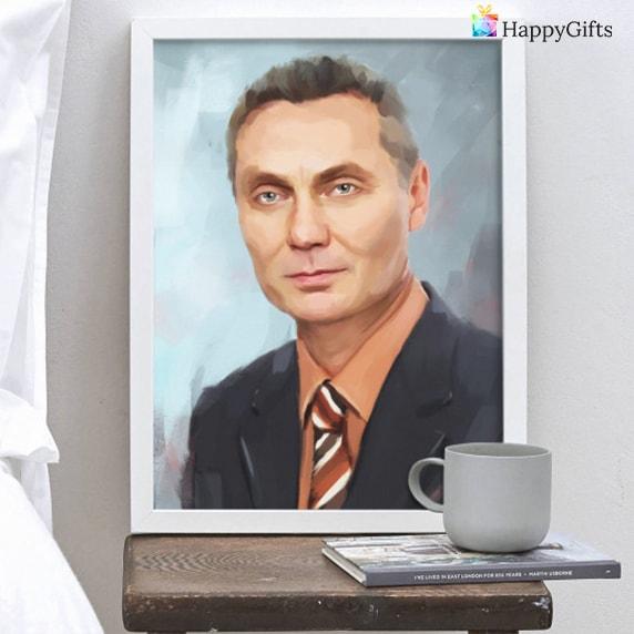 подарък за шеф портрет