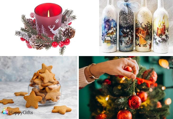 ръчно изработени подаръци за Коледа