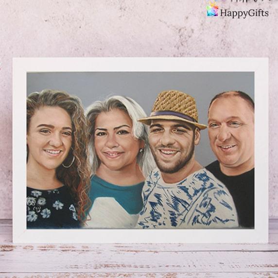 семеен портрет за коледа