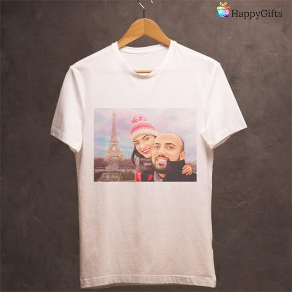 Тениска с карикатура