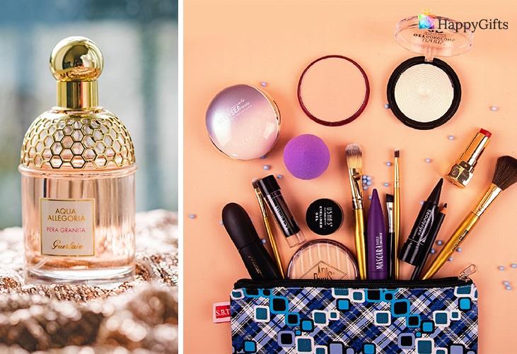 Подходящи подаръци; парфюм, гримове и козметика